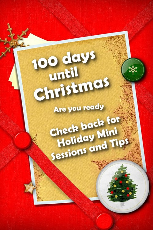 100 days until Christmas