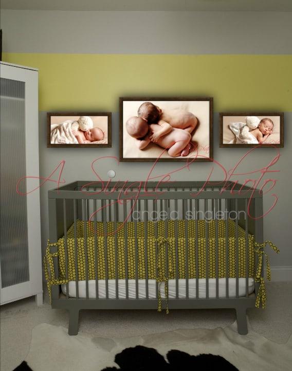 newborn framed portraits