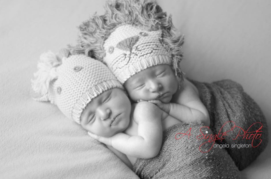 Baltimore Twin Babies photos