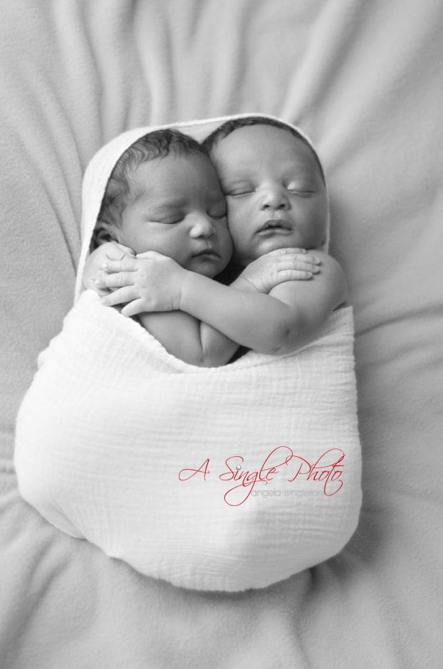 Baltimore twins babies