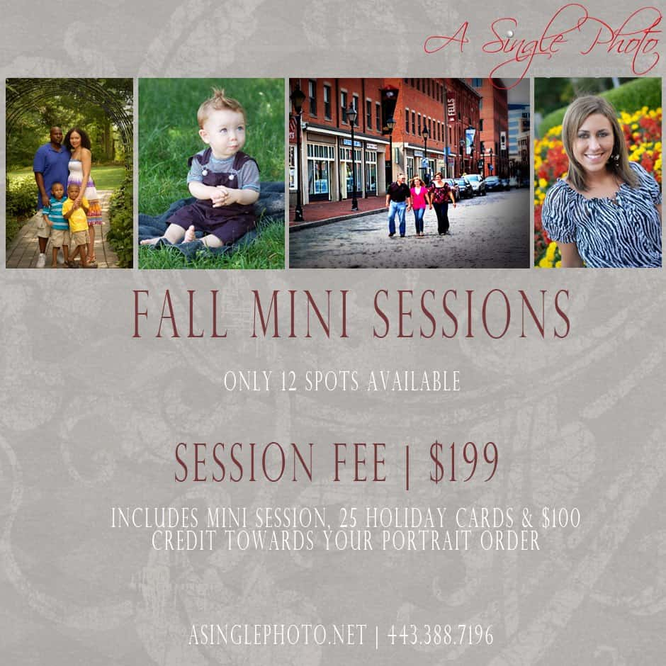 Fall Mini Sessions | Baltimore Maryland Photographer