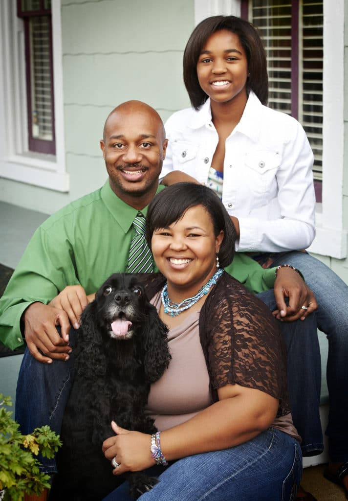 Family photos in Maryland