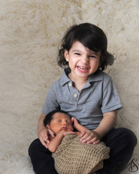 newborn brothers